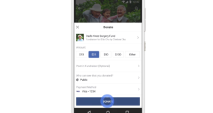 Facebook PersonalFundraiser