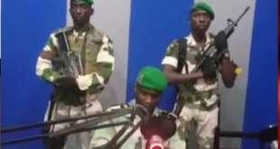 Coup d'État au Gabon