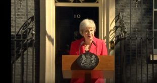 Theresa May Démissionne