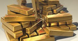 34 lingots d'or