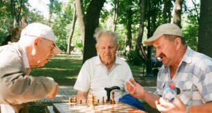 Des seniors dans un EHPAD